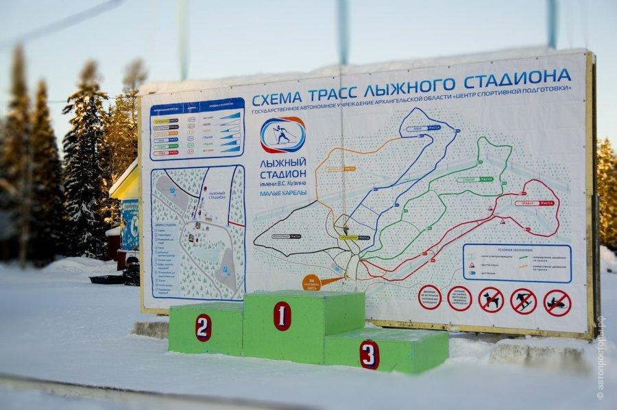 Стадион медик лыжная трасса схема